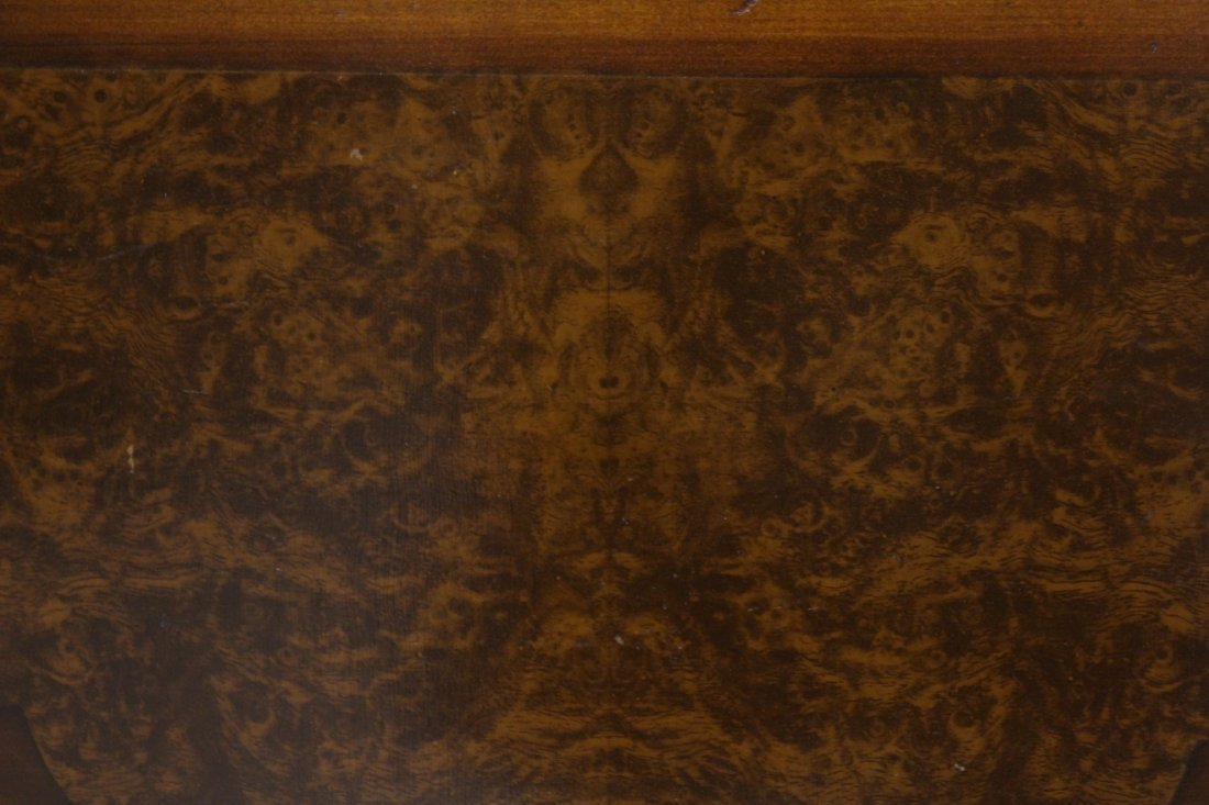 Victorian mahogany gated leg table - 10