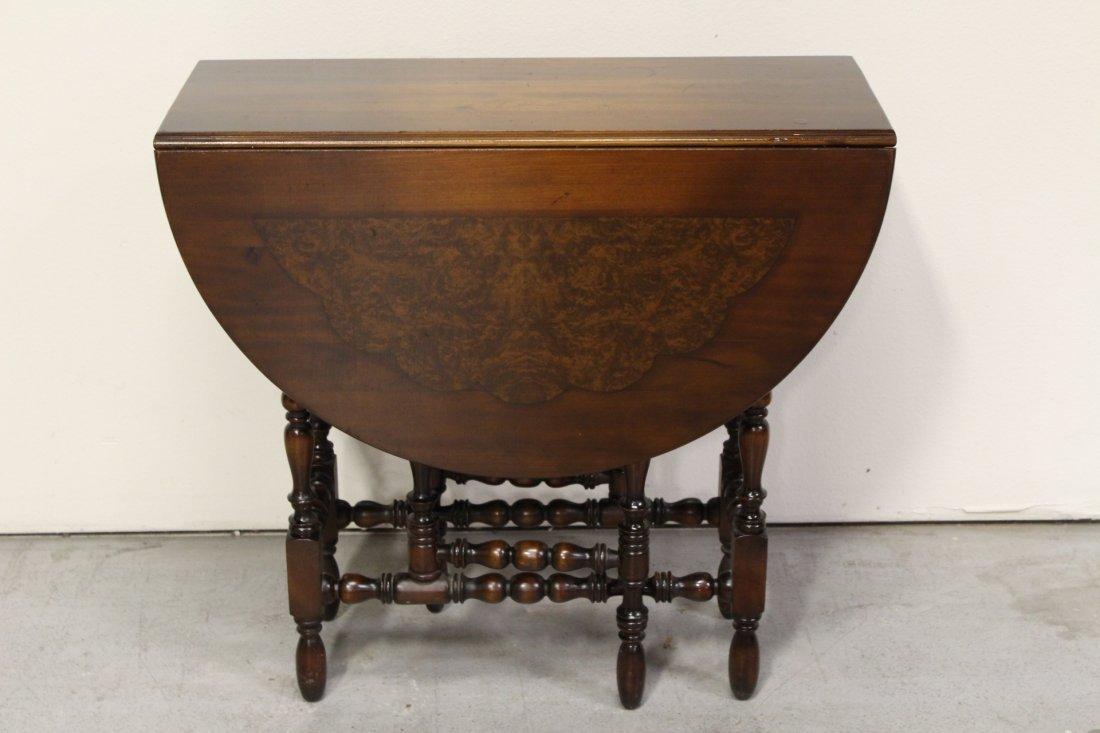 Victorian mahogany gated leg table