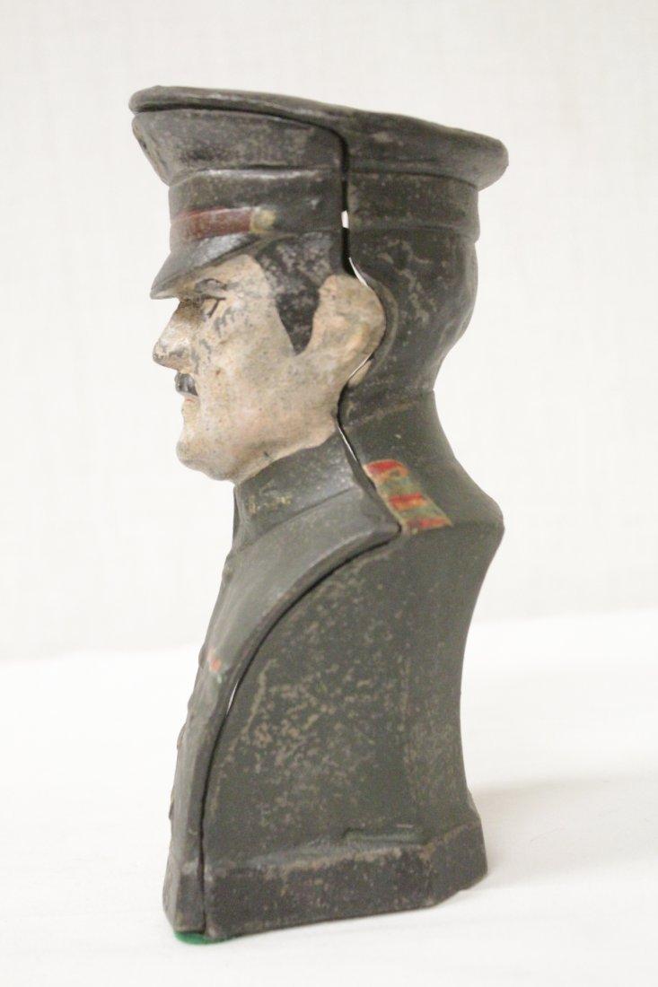 "Vintage cast iron bank ""Pershing"" - 2"