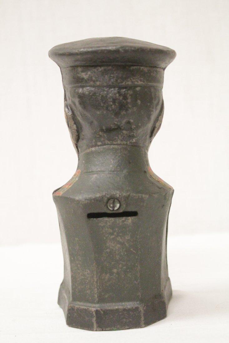"Vintage cast iron bank ""Pershing"" - 3"