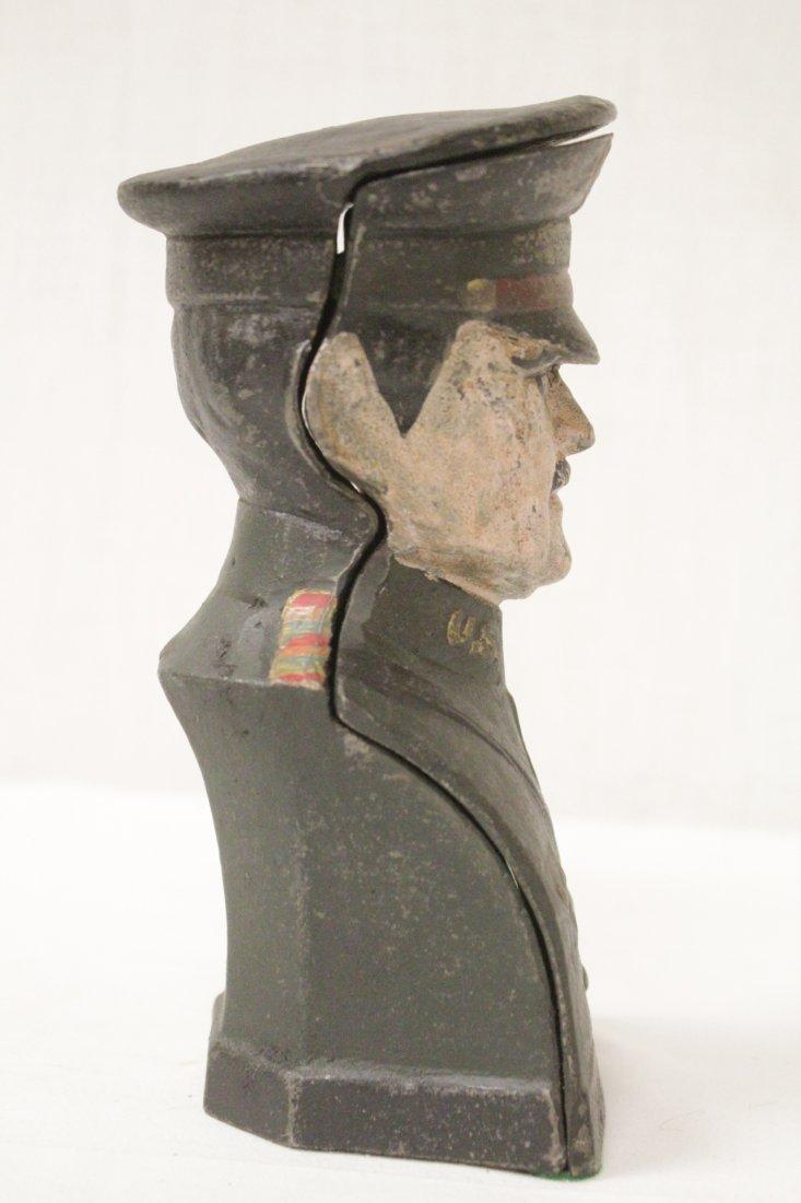 "Vintage cast iron bank ""Pershing"" - 4"