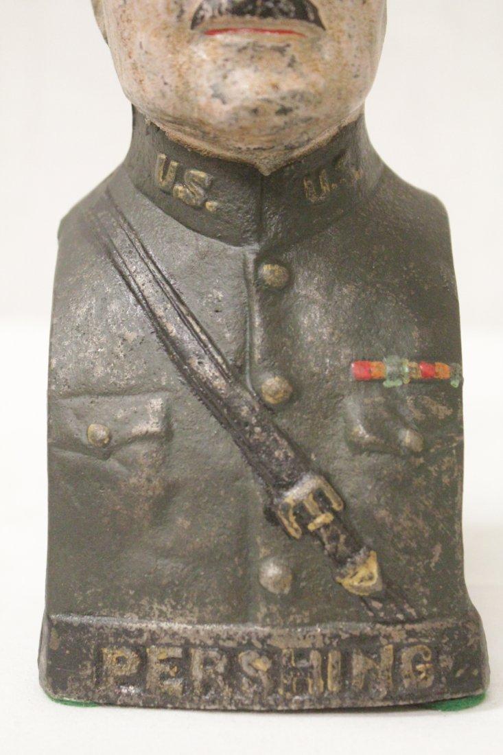 "Vintage cast iron bank ""Pershing"" - 7"