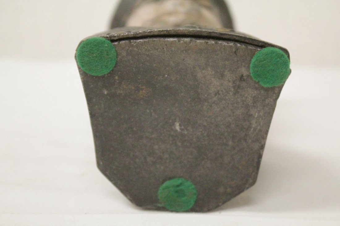 "Vintage cast iron bank ""Pershing"" - 8"