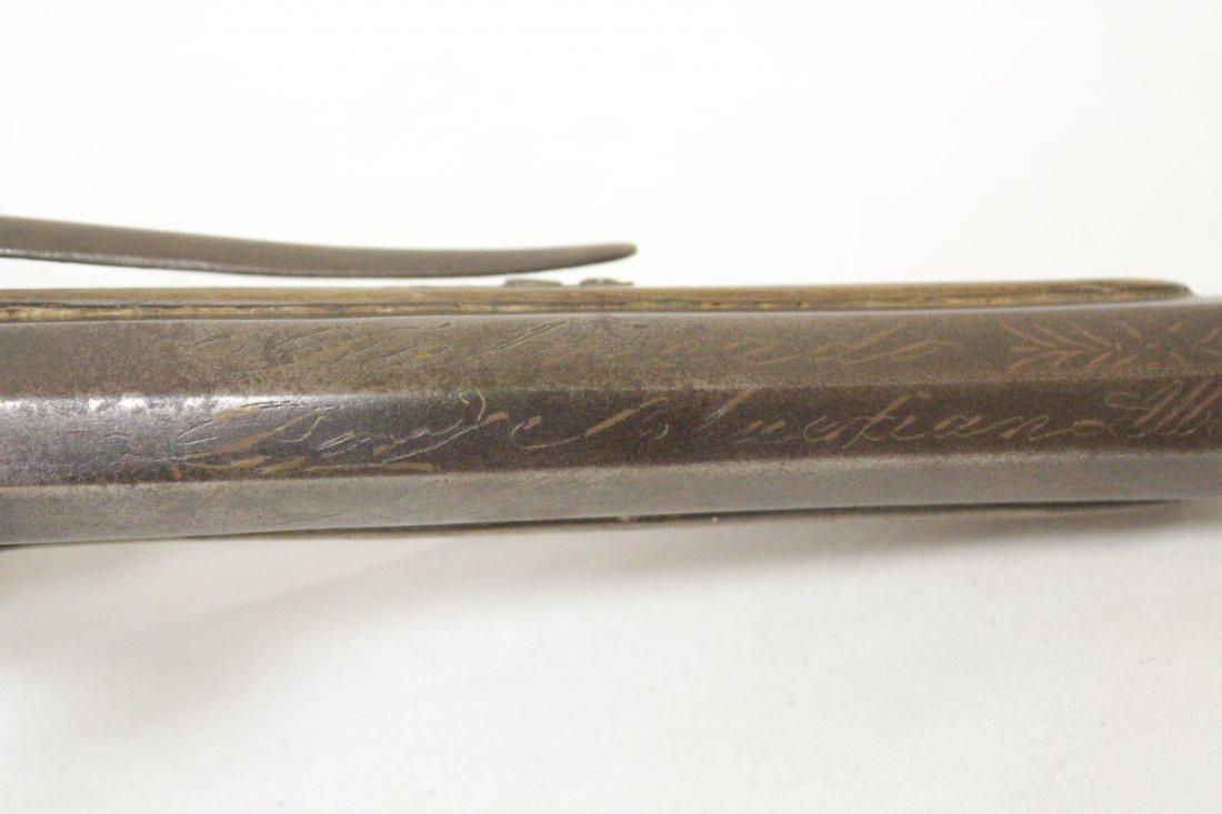 17th/18th century percussion pistol - 10