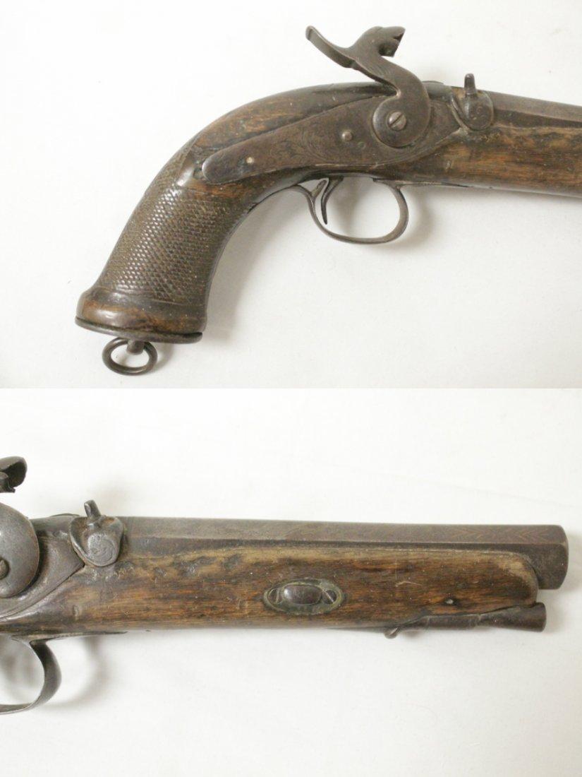 17th/18th century percussion pistol - 2