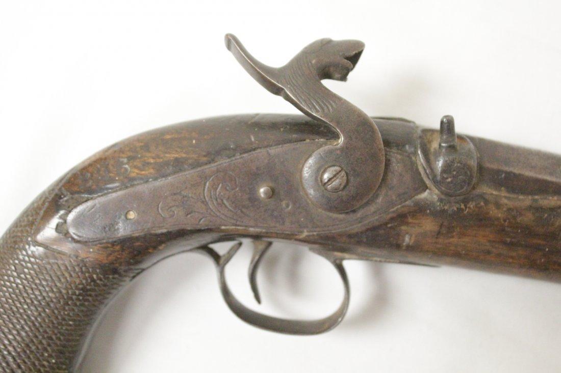 17th/18th century percussion pistol - 3
