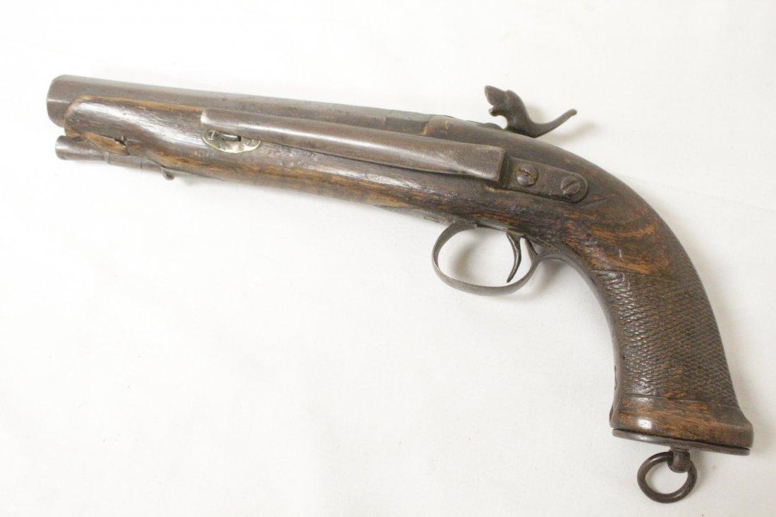17th/18th century percussion pistol - 4