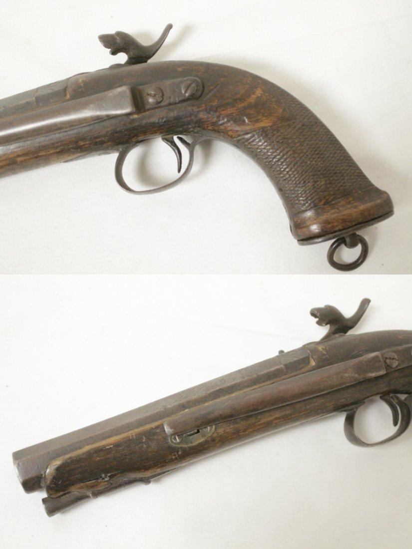 17th/18th century percussion pistol - 5