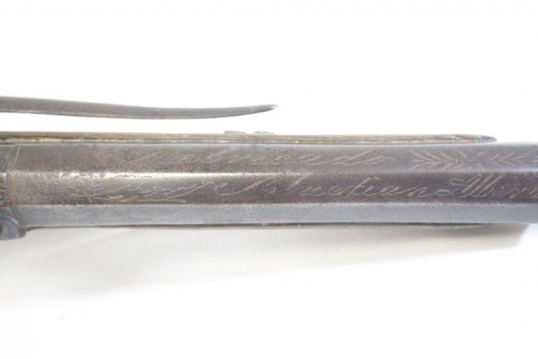 17th/18th century percussion pistol - 8