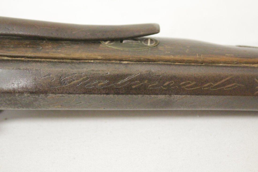17th/18th century percussion pistol - 9
