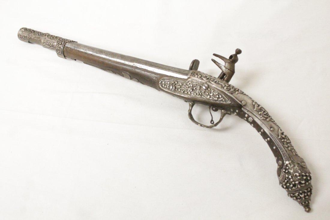 17th/18th c. percussion pistol
