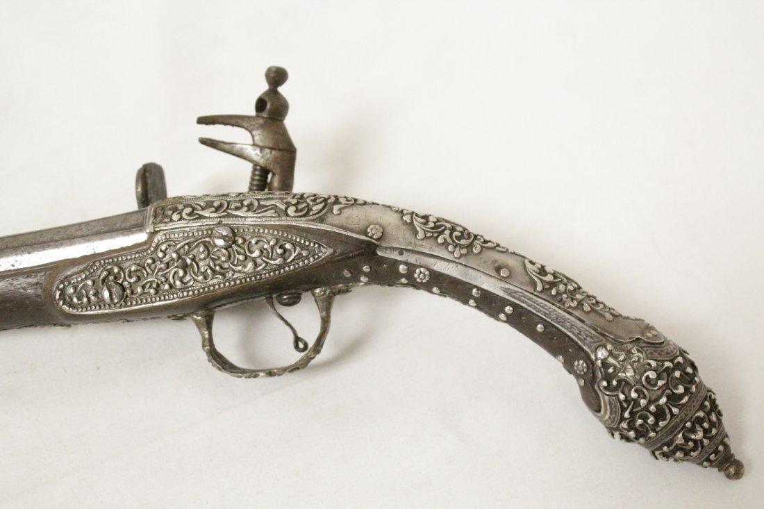 17th/18th c. percussion pistol - 2