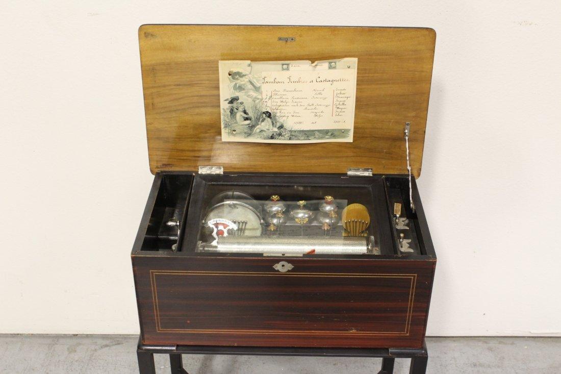 Victorian Swiss made mechanical music box