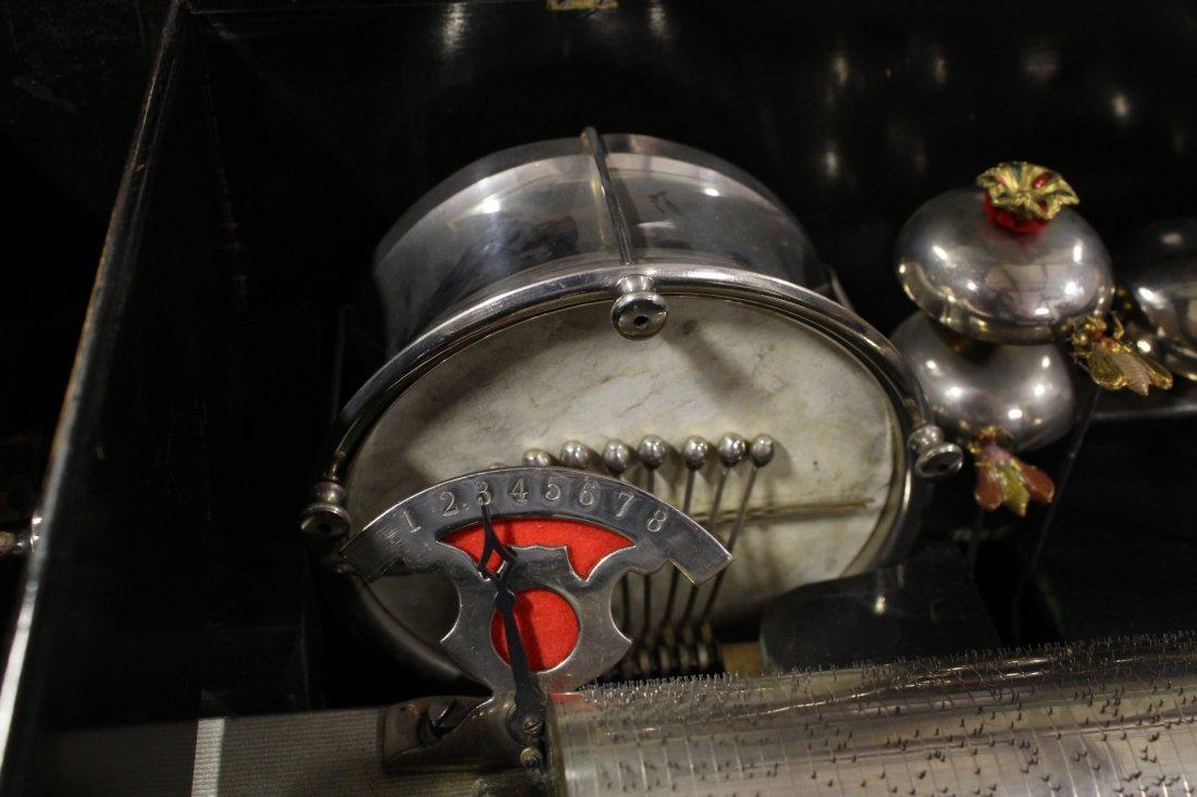 Victorian Swiss made mechanical music box - 5