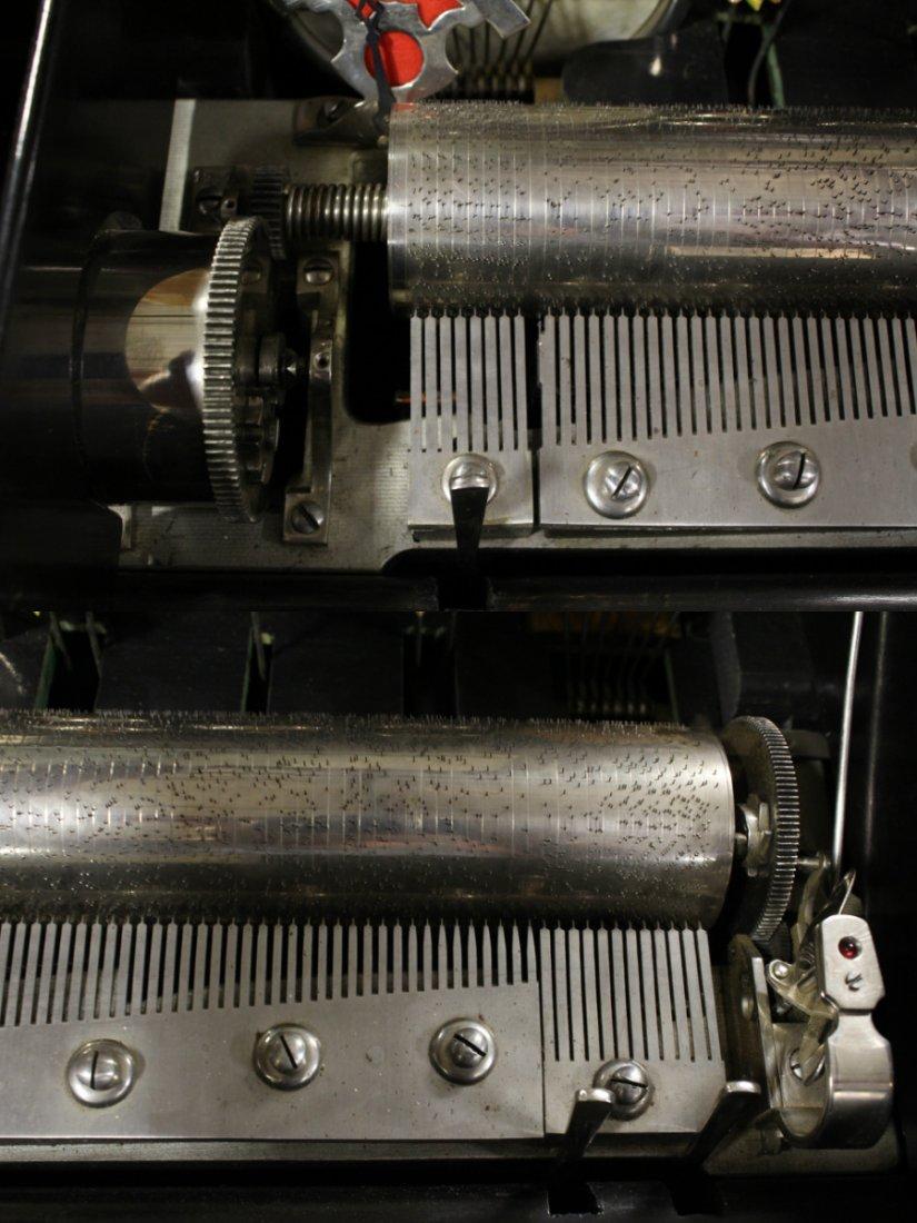 Victorian Swiss made mechanical music box - 9