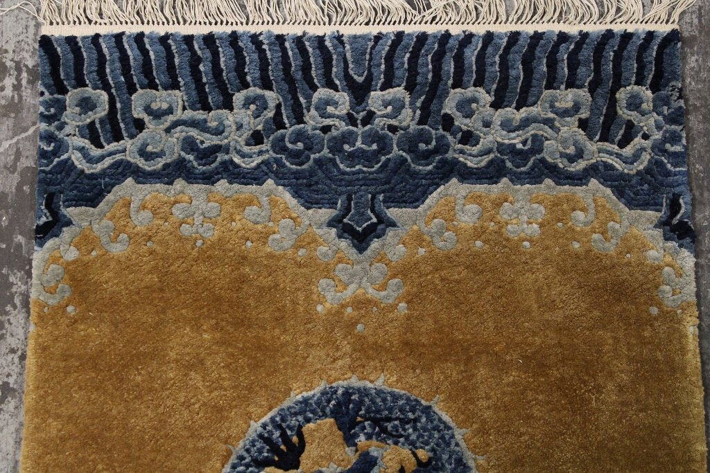 Chinese silk Peking rug - 4
