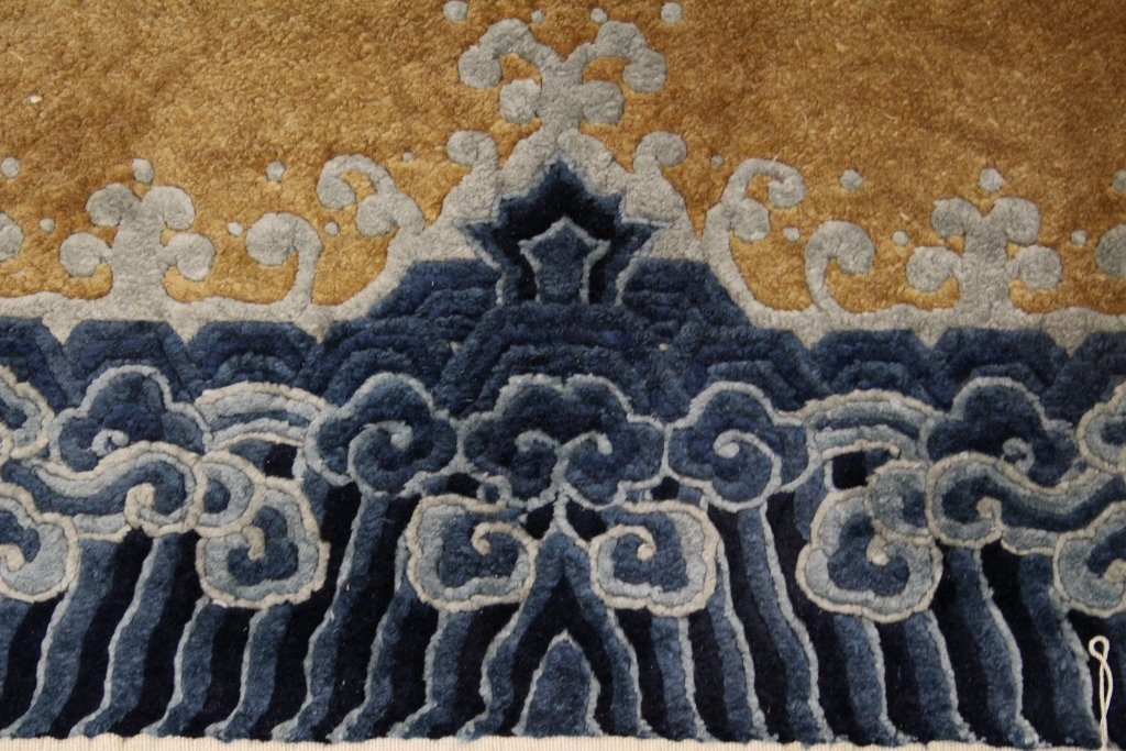 Chinese silk Peking rug - 6