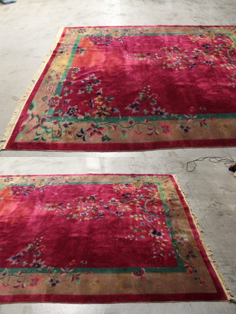 Large Chinese early 20th century Nichols rug - 2