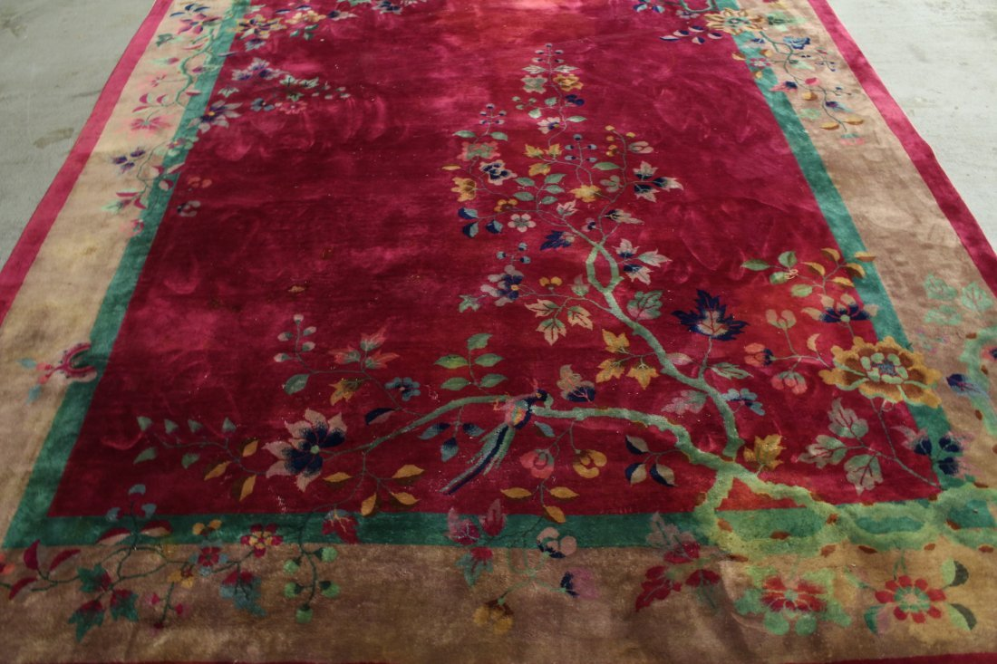 Large Chinese early 20th century Nichols rug - 4