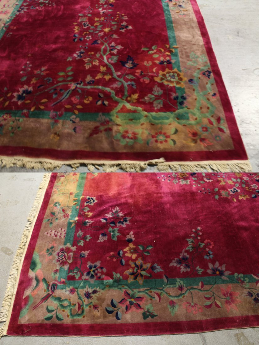 Large Chinese early 20th century Nichols rug - 6