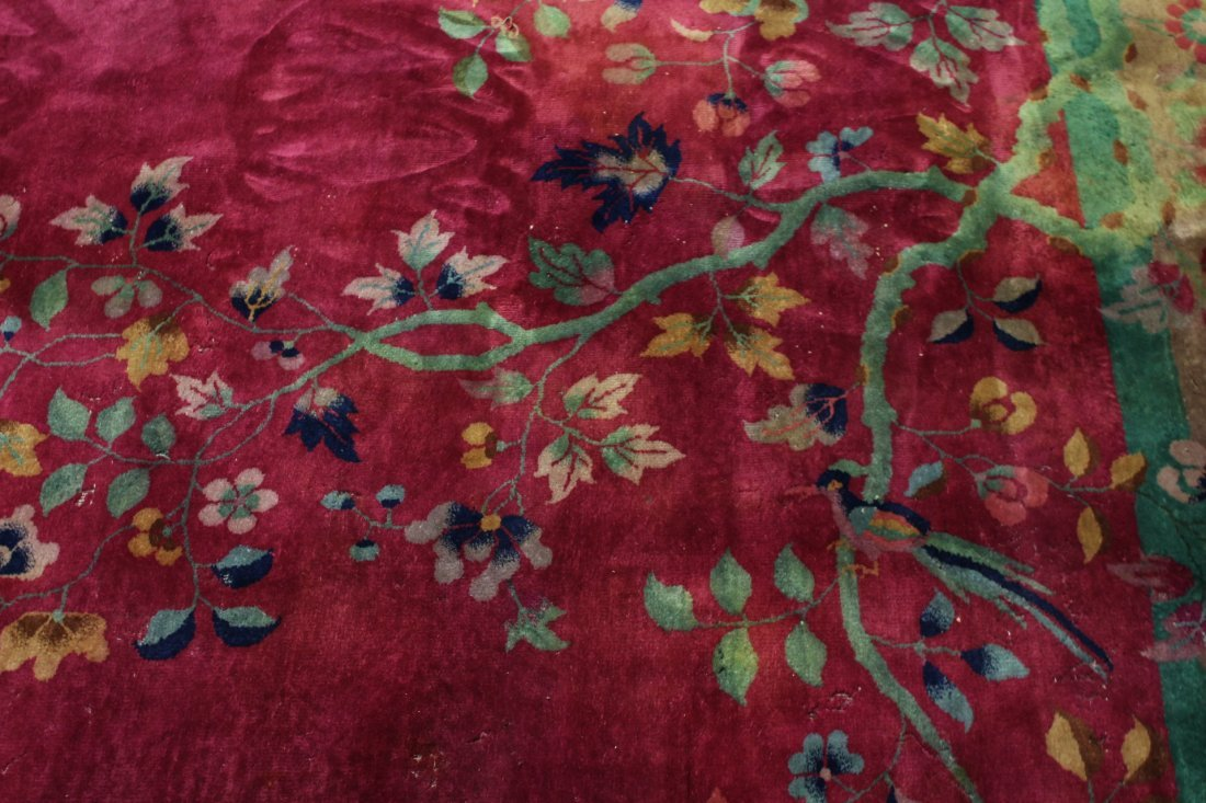 Large Chinese early 20th century Nichols rug - 7