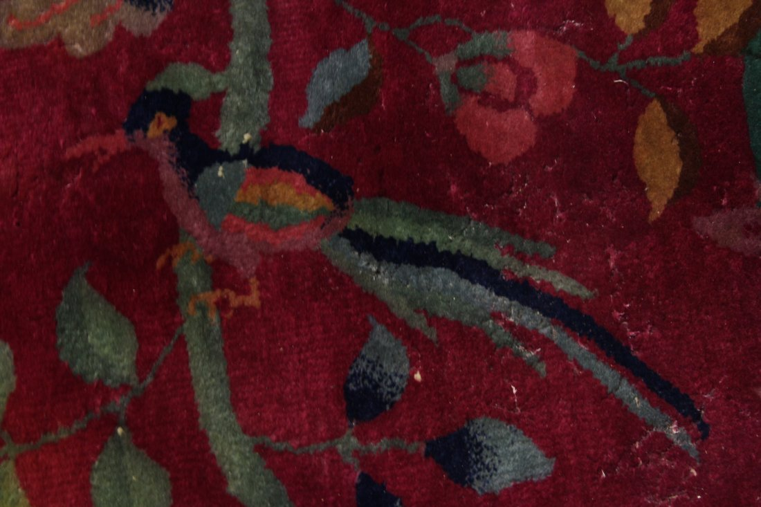 Large Chinese early 20th century Nichols rug - 8