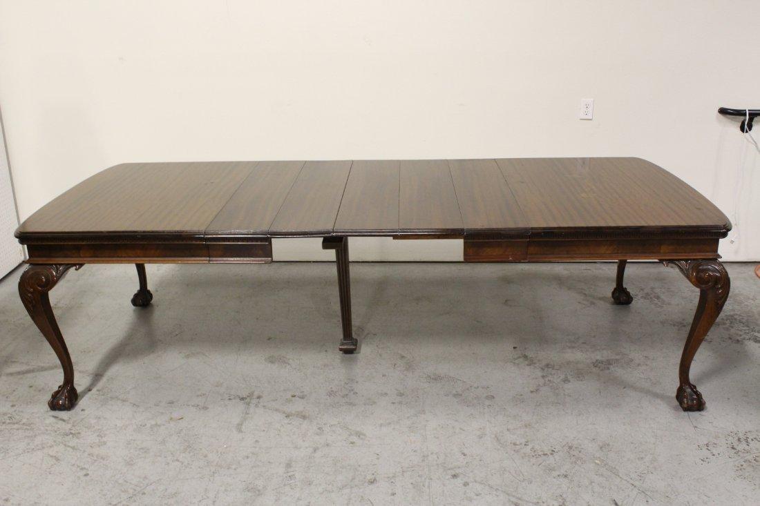 mahogany dining room set - 10