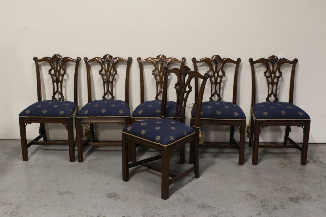 mahogany dining room set - 2