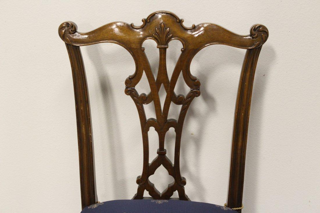 mahogany dining room set - 4
