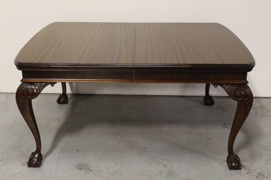 mahogany dining room set - 5