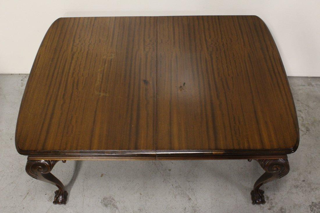 mahogany dining room set - 7