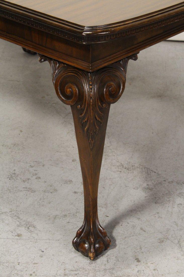mahogany dining room set - 9