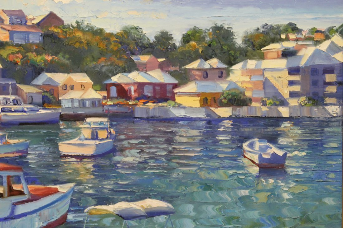 Beautiful oil on canvas by Howard Behrens - 5