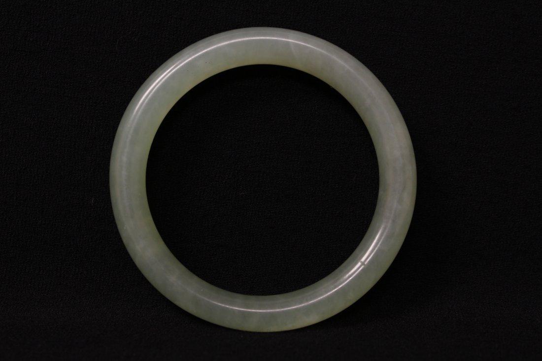 Chinese jadeite bangle bracelet