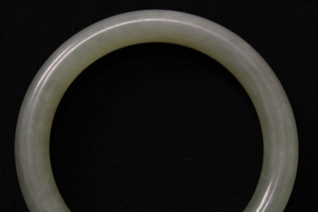 Chinese jadeite bangle bracelet - 3