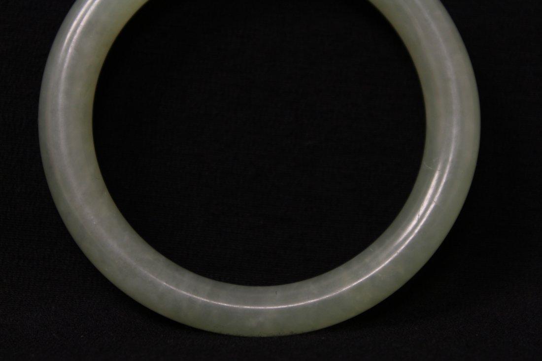 Chinese jadeite bangle bracelet - 4