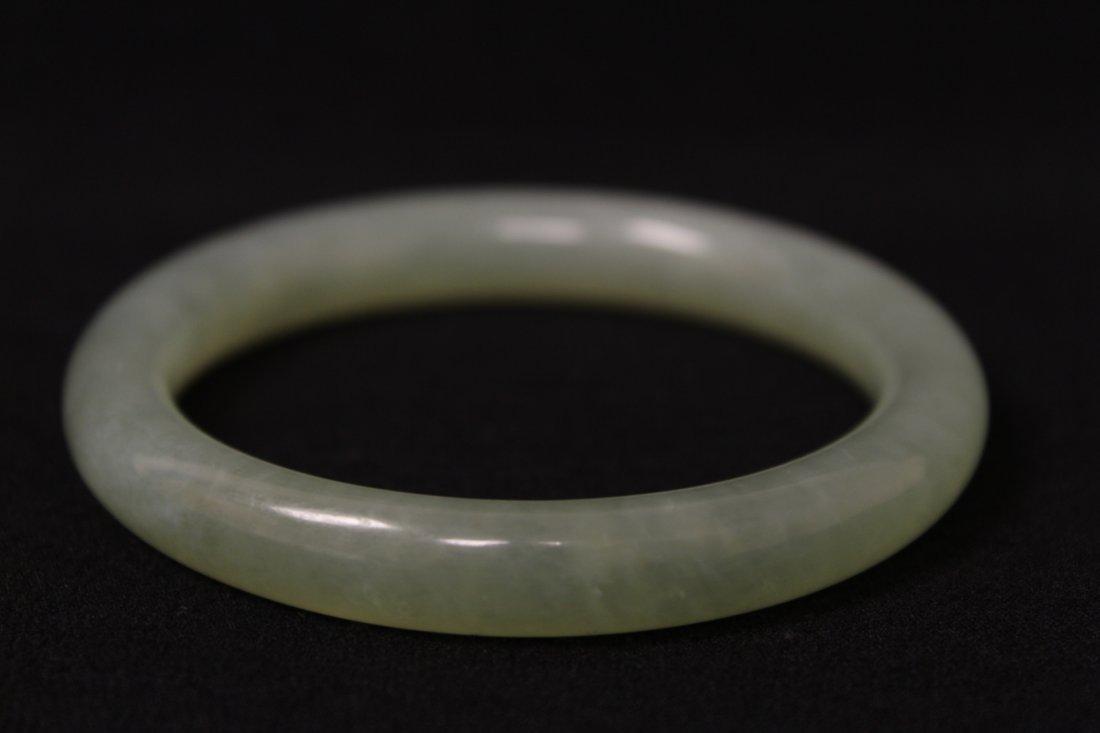 Chinese jadeite bangle bracelet - 5