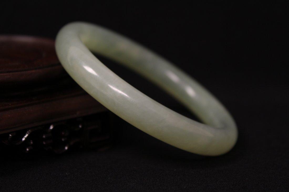 Chinese jadeite bangle bracelet - 7