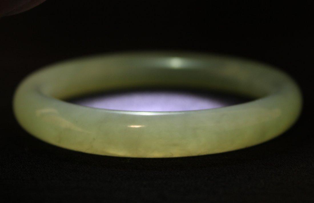Chinese jadeite bangle bracelet - 9