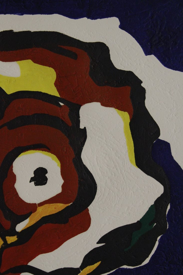 """Etching """"abstract"""" by Karel Appel, dated 1977 - 4"""