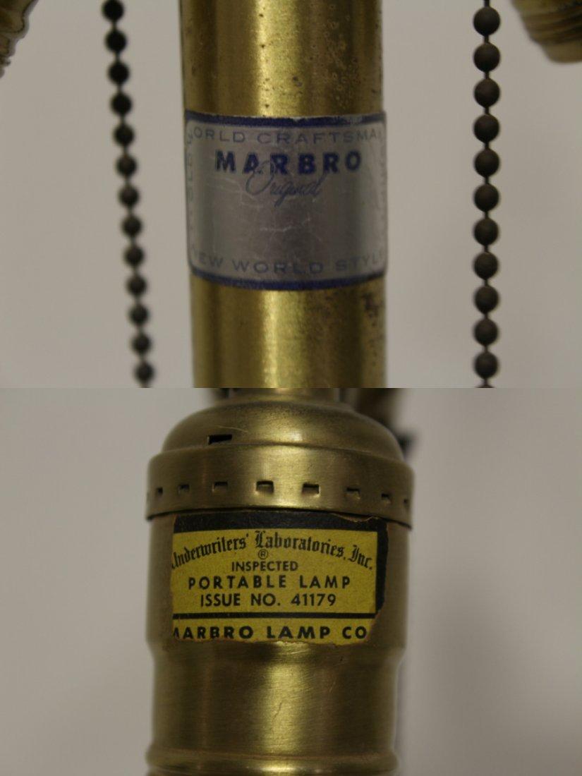 A Marlboro lamp with celadon porcelain base - 10