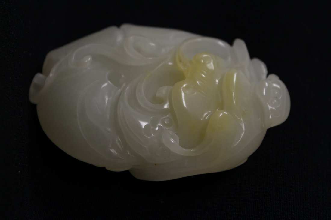 2 Chinese agate carved ornament - 3