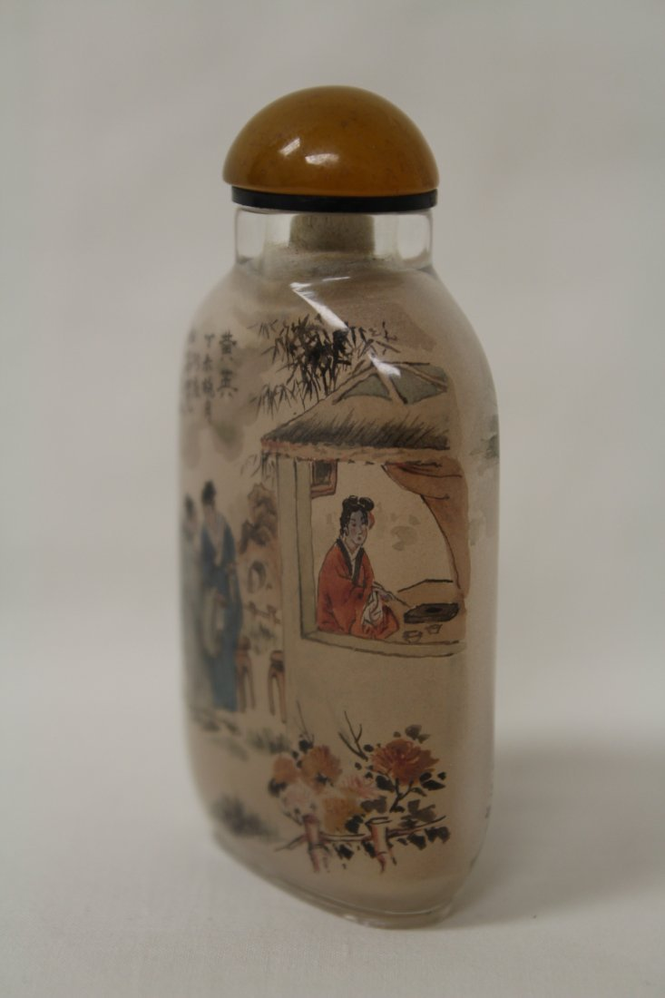 Chinese inside painted snuff bottle - 2
