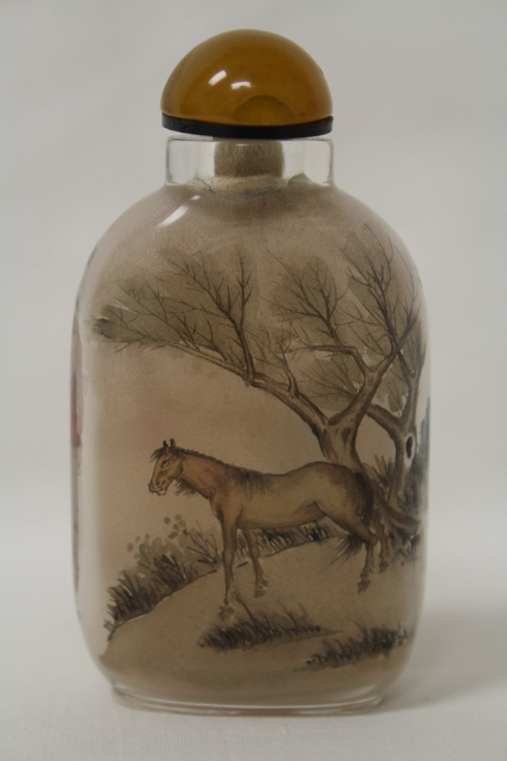 Chinese inside painted snuff bottle - 4