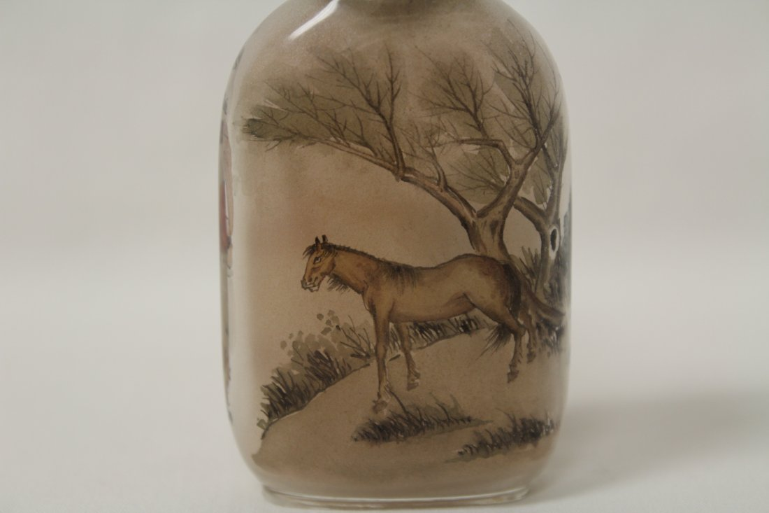 Chinese inside painted snuff bottle - 6