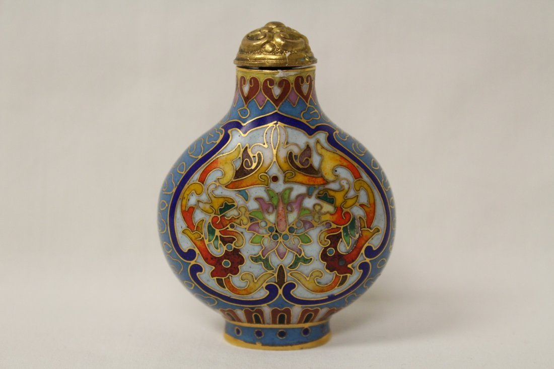 2 Chinese snuff bottles - 2