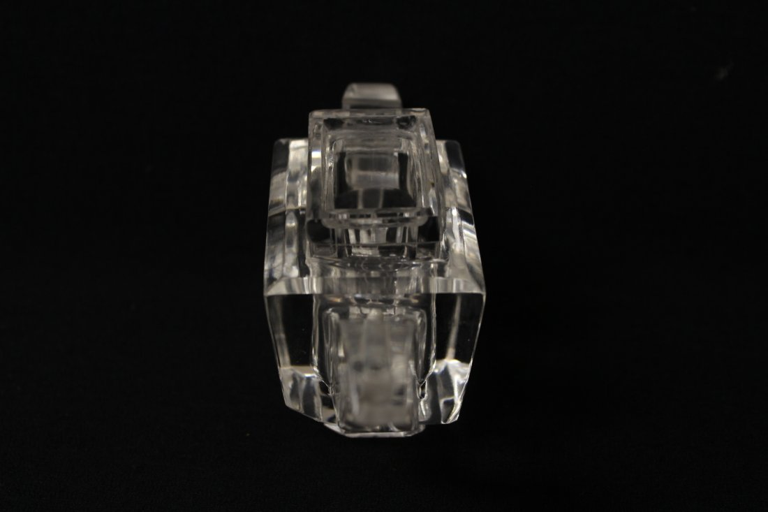 Chinese antique rock crystal carved teapot - 3