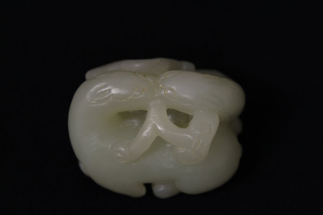 Chinese light celadon jade carving - 6