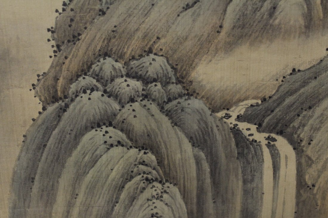 A beautiful Chinese watercolor scroll - 10