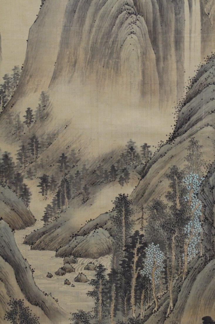 A beautiful Chinese watercolor scroll - 6